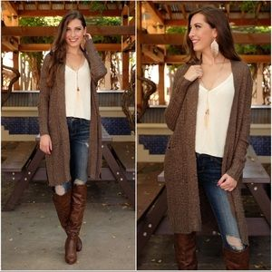 Olive Soft and Cozy Knit Cardigan